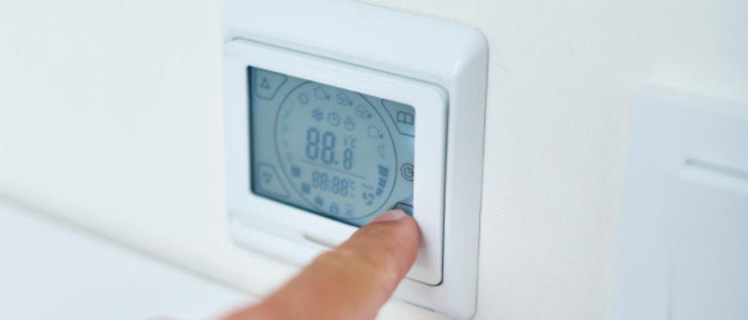 setting temperature
